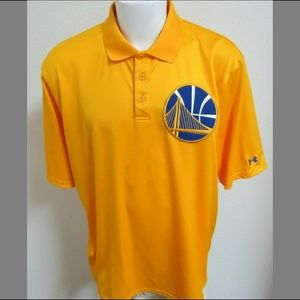 2XL Under Armour Warriors Men Poly #B49 Golf Polo